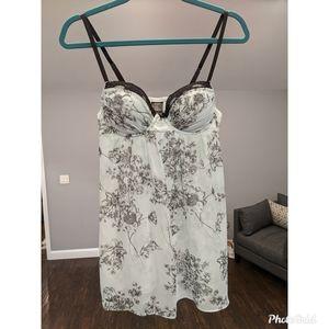 Floral chemise